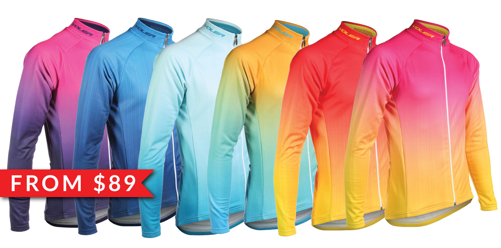 Soleil Long Sleeve Thermal Jerseys